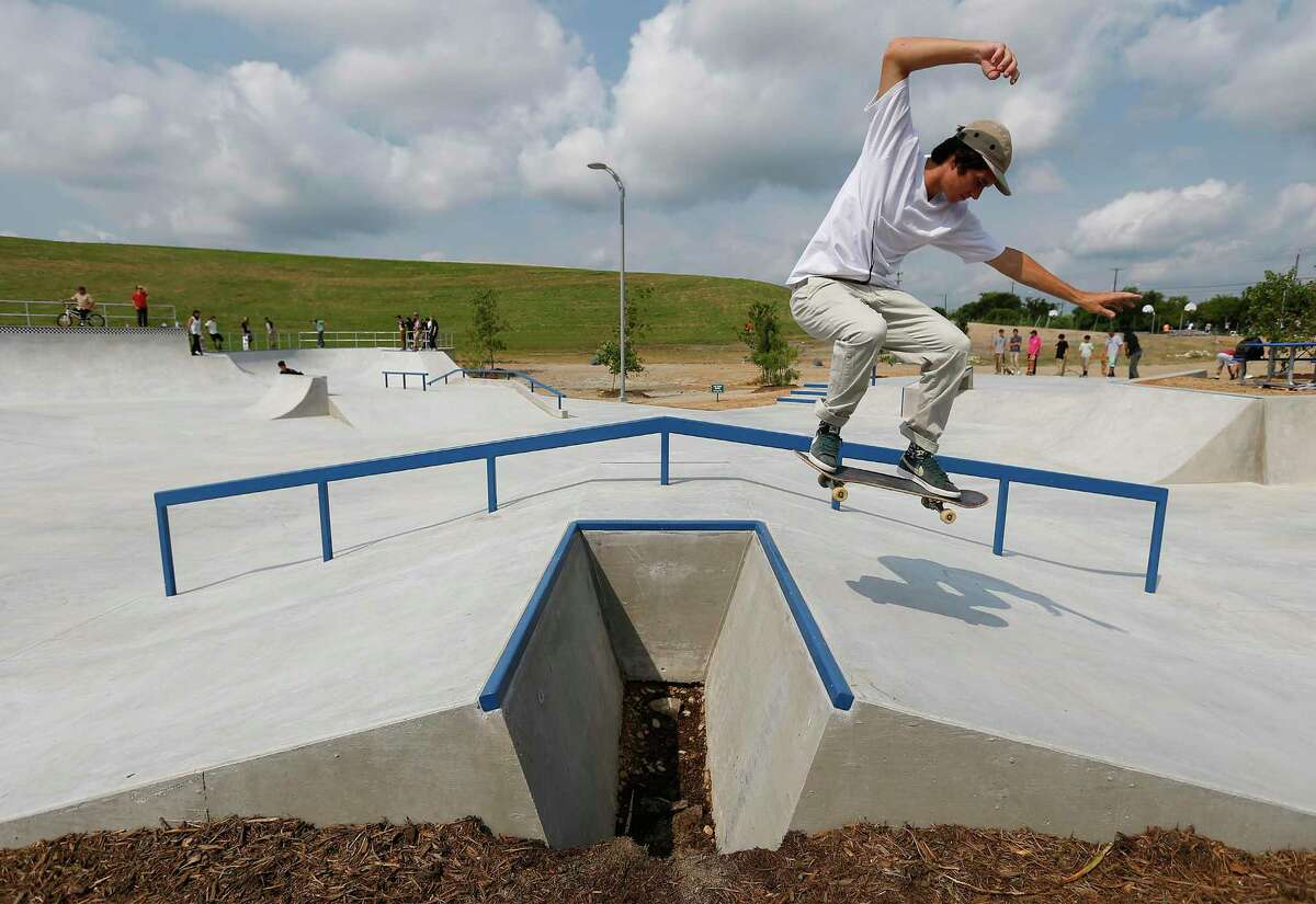 San Antonio officials announced Monday it has reopened skate parks among other public spaces that officials temporarily shuttered because of the coronavirus pandemic.