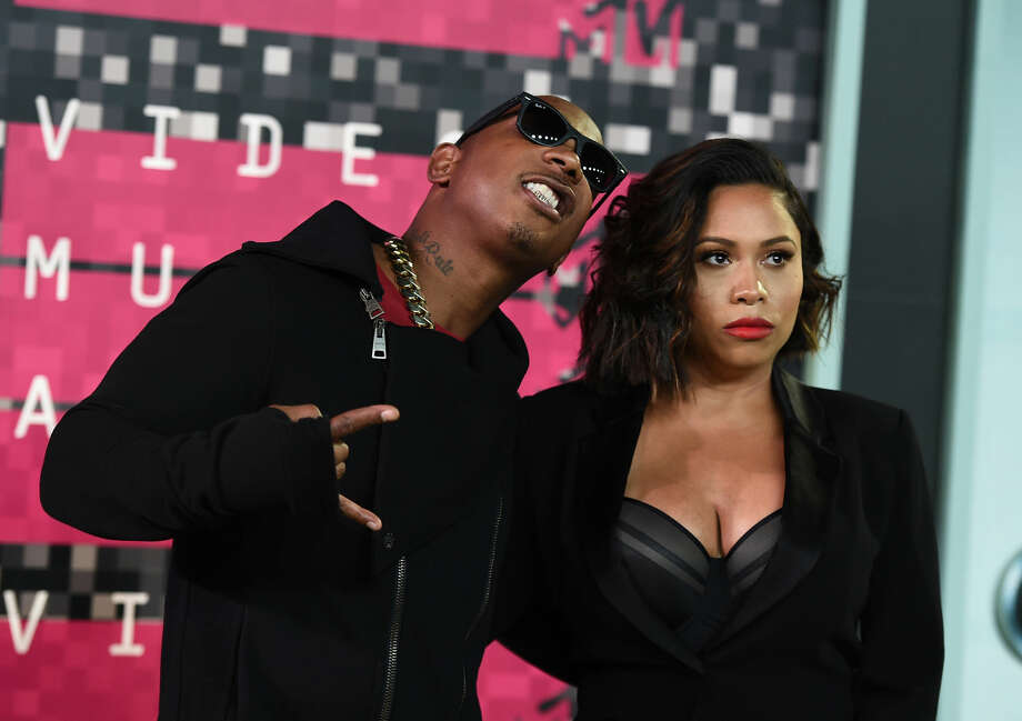 Ja Rule, left, and Aisha Atkins arrive at the MTV Video Music Awards at the Microsoft Theater on Sunday, Aug. 30, 2015, in Los Angeles. (Photo by Jordan Strauss/Invision/AP)