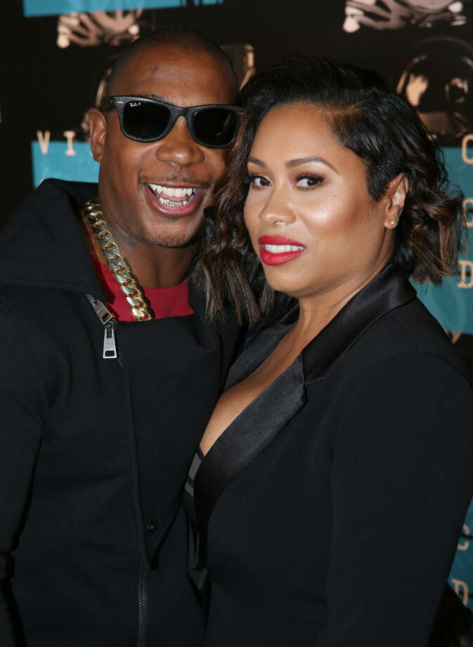 Ja Rule, left, and Aisha Atkins arrive at the MTV Video Music Awards at the Microsoft Theater on Sunday, Aug. 30, 2015, in Los Angeles. (Photo by Matt Sayles/Invision/AP)