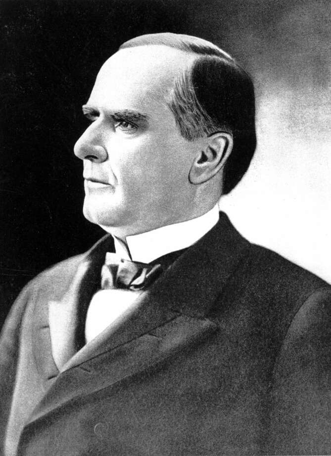 FILE - In this undated file photo, William McKinley, 25th President of the United States. He was inaugurated in 1897, and again in 1901 just prior to being assassinated on Sept. 6, 1901. Even before he arrived on a historic trip to Alaska, President Barack Obama was making waves over his decision to rename its famed Mount McKinley, named for President McKinley, as Denali, a move applauded in Alaska and derided more than 3,000 miles away in Ohio. (AP Photo, File)