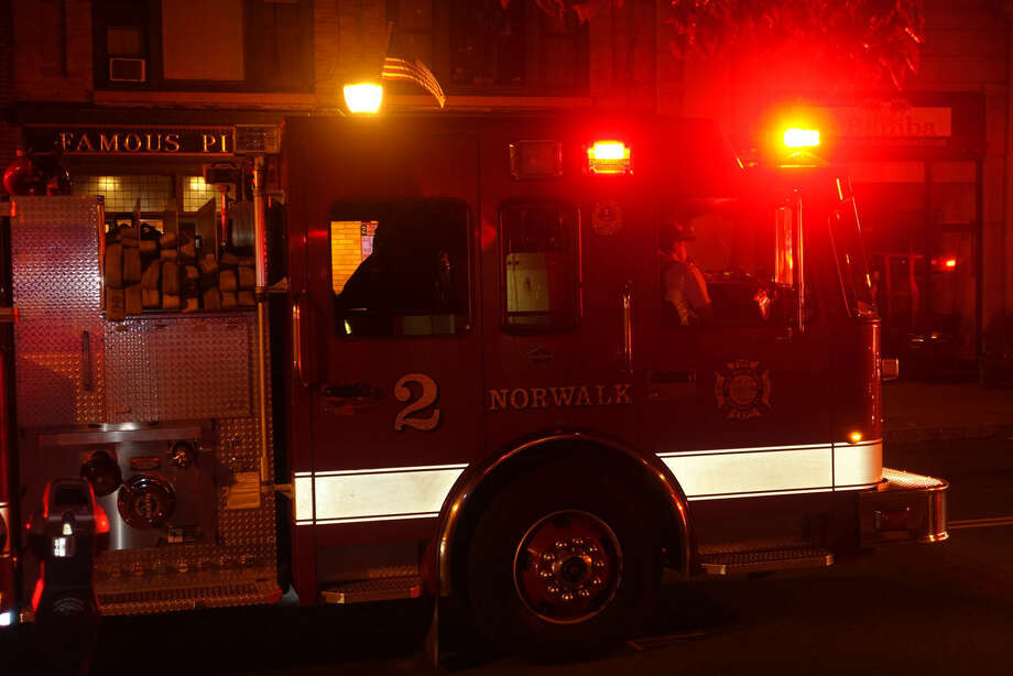 Hour photo/Jeff DaleNorwalk FD respond to report of a fight, stabbing and assault in SoNo around 2:30 a.m. Saturday morning.