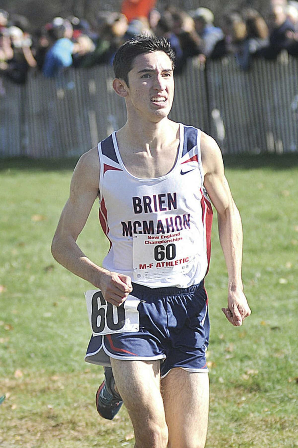 Eric van der Els of Brien McMahon