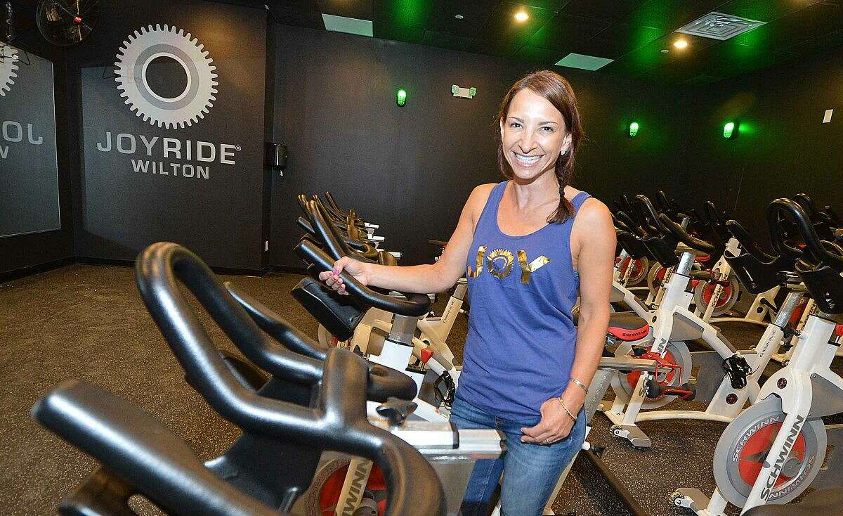 Amy Pal has opened JoyRide Cycling Studio in Wilton Center.