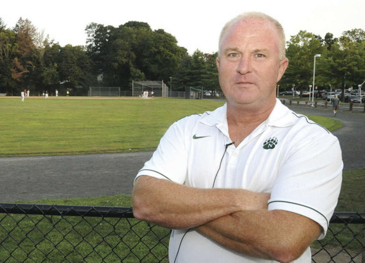 Doug Marchetti the new athletic director at Norrwalk High School. Hour photo/Matthew Vinci