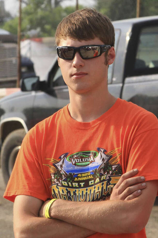 This June 28, 2014 photo provided by Empire Super Sprints, Inc., shows sprint car driver Kevin Ward Jr., at the Merrittville Speedway in Thorold, Canada. Ward was killed Saturday, Aug. 9, 2014 at the Canandaigua Motorsports Park in Central Square, N.Y., when the car being driven by Tony Stewart struck the 20-year-old who had climbed from his crashed car and was on the darkened dirt track trying to confront Stewart following a bump with Stewart one lap earlier. (AP Photo/Empire Super Sprints, Inc.)