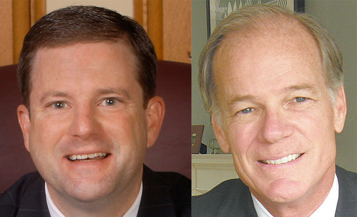 John McKinney (left) and Tom Foley (right) faceoff today in the GOP Primary Election.