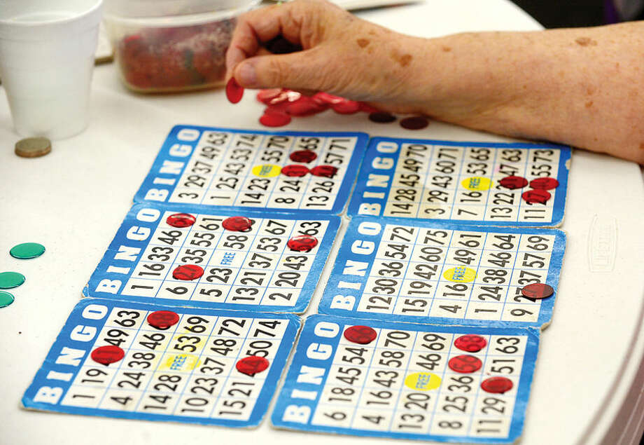 Hour photo / Erik Trautmann Seniors play Bingo at the Norwalk Senior Center on Allen Rd Thursday. The Senior Center will be holding new nighttime Bingo scheduled for Thursday nights premeiring Thursday, September 17th from 6:30pm to 9:30.