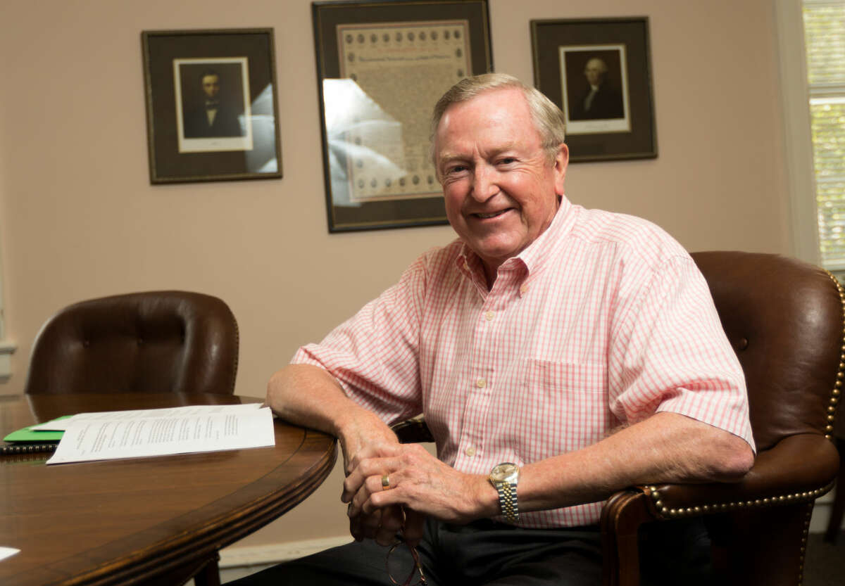 First Selectman Bill Brennan will step down from his post as the end of this term.