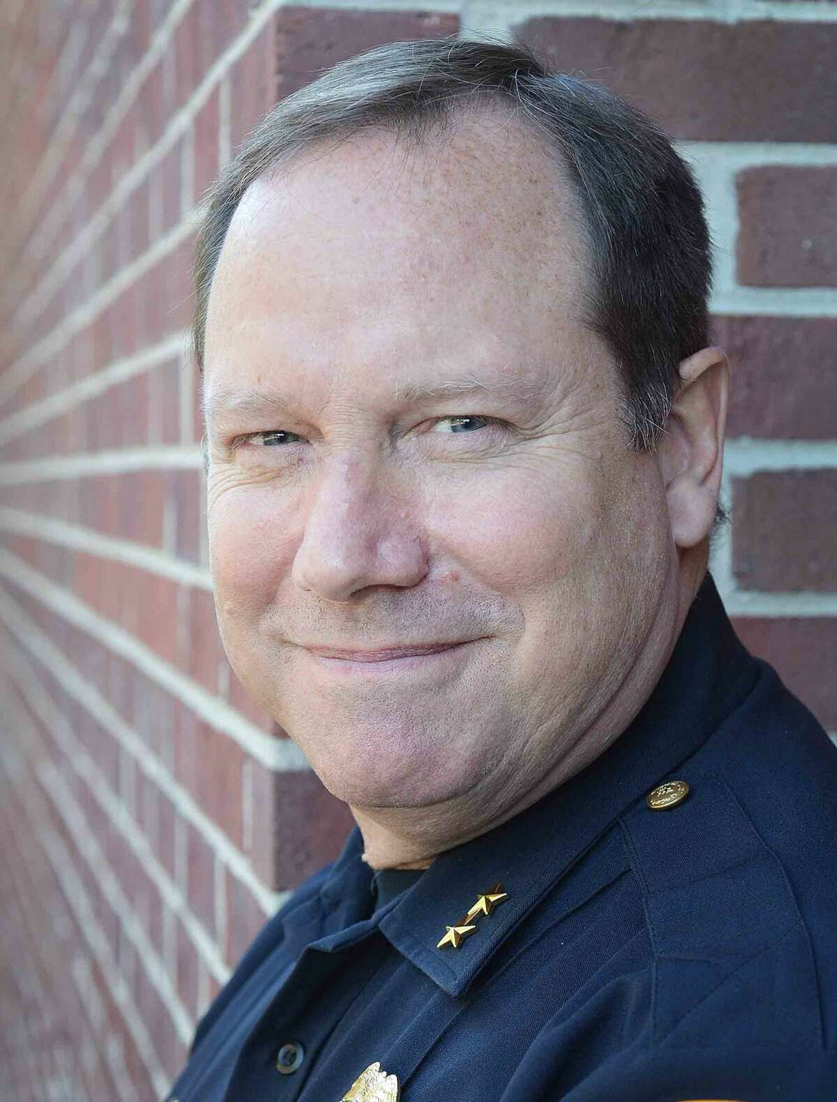 Hour Photo/Alex von Kleydorff Wilton Police Chief Robert Crosby