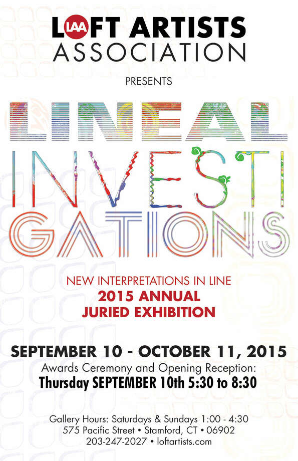 """Second Annual Tri-State Juried Exhibition  """"Lineal Investigations"""""""