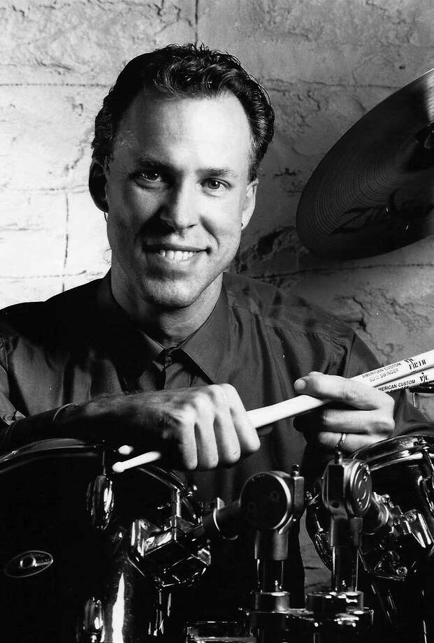 Contributed photoA young DonaldMulvaney posesfor a photo with his drum sticks in hand. Mulvaney, an accomplished composer, drummer and musician, passed away on Monday due to injured sustained during an August car accident. He was 63.