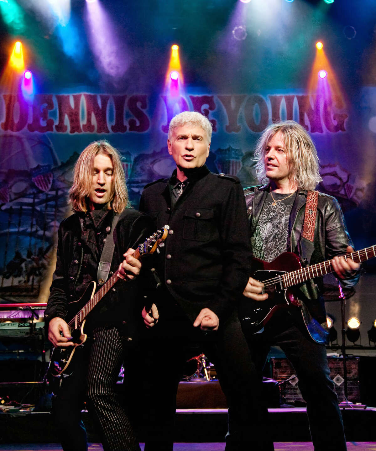 Contributed image Dennis DeYoung: The Music of STYX will headline The Norwalk Oyster Festival on Sept. 12 at Veterans Memorial Park.