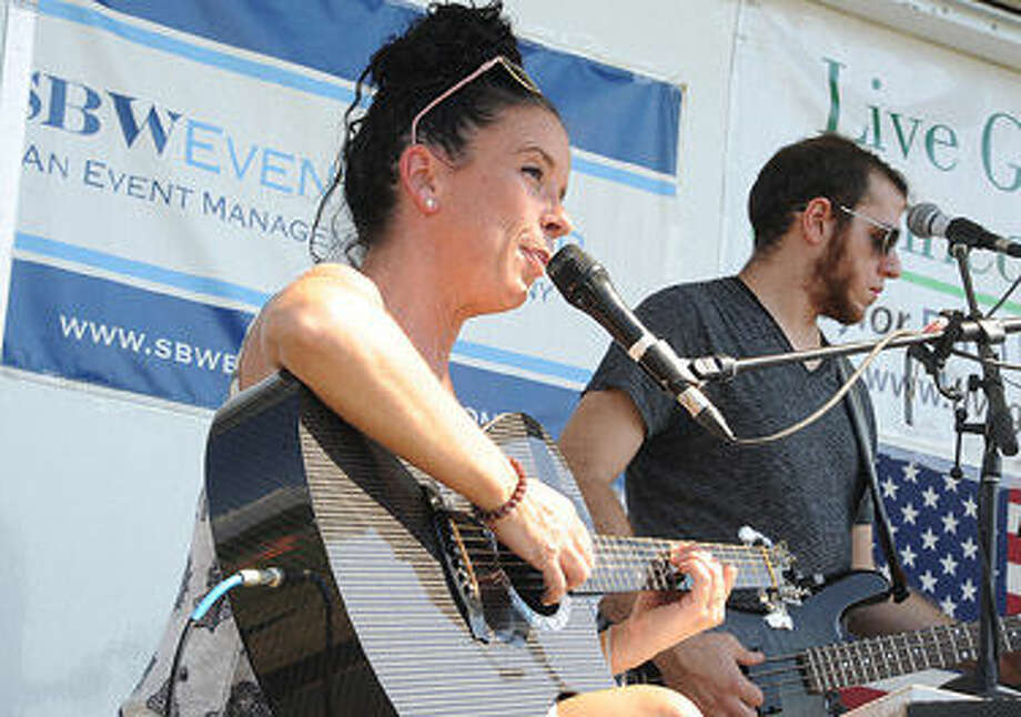 The Sarah Chesler Band performs Saturday at the Live Green Connecticut event Saturday. Hour photo/Matthew Vinci