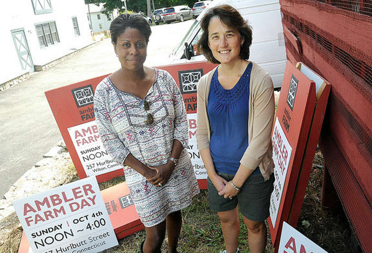 Priscilla Thors and Maria Wilcox are the co-chairs of the upcoming Ambler Farm Day set for Oct. 4.