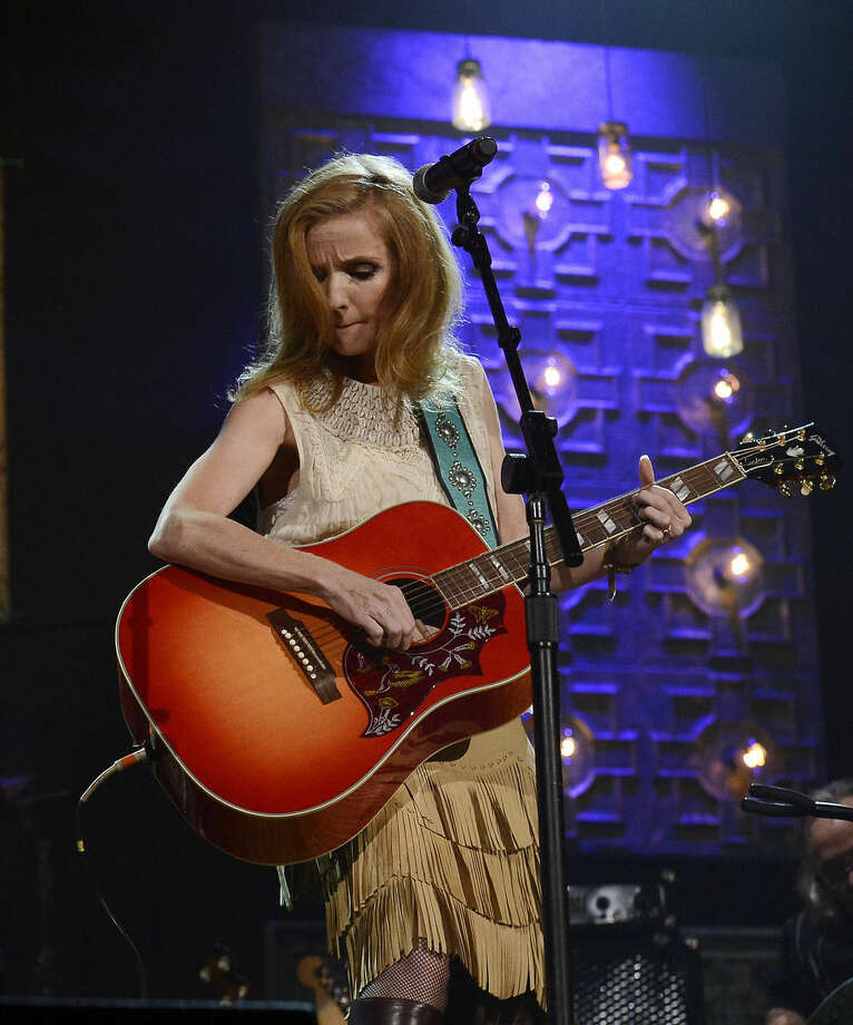 "FILE - In this Sept. 17, 2014 file photo, Patty Griffin performs during the Americana Music Honors and Awards in Nashville, Tenn. Griffin's new album ""Servant of Love,""comes out on Friday, Sept. 25, 2015. (AP Photo/Mark Zaleski, File)"