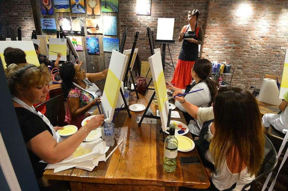 Hour Photo/Alex von Kleydorff Muse Paint Bar opens in South Norwalk