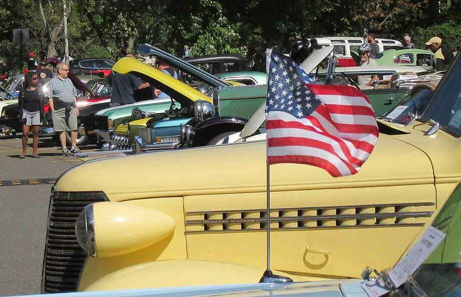 Hour Photo/Alex von Kleydorff The 2015 Alden Sherman Classic Car Show at Weston High School Sunday