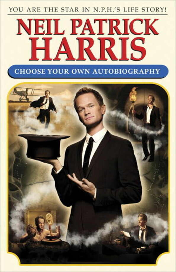 "This book cover image released by Crown Archetype shows ""Neil Patrick Harris: Choose Your Own Autobiography,"" by Neil Patrick Harris. The book is set for release on Oct. 14, 2014. (AP Photo/Crown Archetype)"