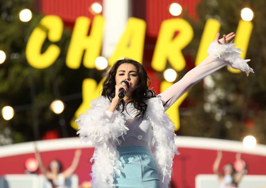 Charli XCX performs at the MTV Video Music Awards at The Forum on Sunday, Aug. 24, 2014, in Inglewood, Calif. (Photo by Matt Sayles/Invision/AP)