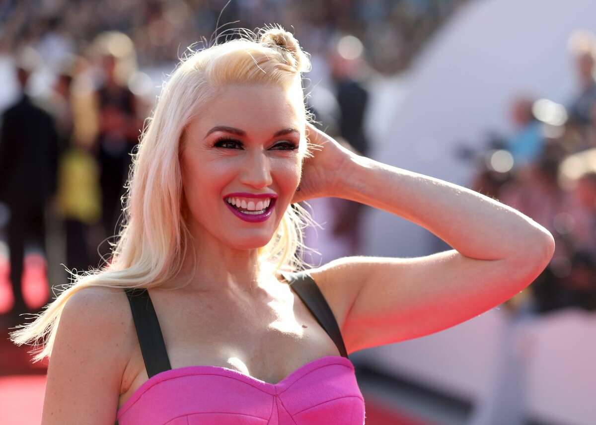 Gwen Stefani arrives at the MTV Video Music Awards at The Forum on Sunday, Aug. 24, 2014, in Inglewood, Calif. (Photo by Matt Sayles/Invision/AP)