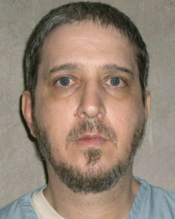FILE - This undated file photo provided by the Oklahoma Department of Corrections shows death row inmate Richard Glossip. In a 3-2 decision, the Oklahoma Court of Criminal Appeals on Monday, Sept. 28, 2015, denied Glossip's request for an evidentiary hearing and an emergency stay of execution. The court ruled the state can proceed with Glossip's execution. (AP Photo/Oklahoma Department of Corrections, File)