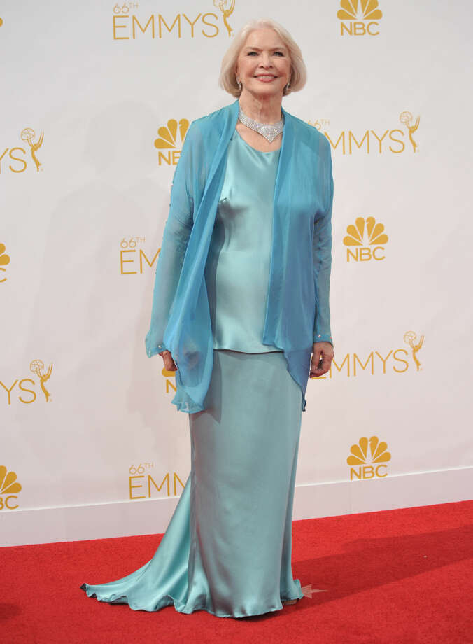 Ellen Burstyn arrives at the 66th Annual Primetime Emmy Awards at the Nokia Theatre L.A. Live on Monday, Aug. 25, 2014, in Los Angeles. (Photo by Richard Shotwell/Invision/AP)