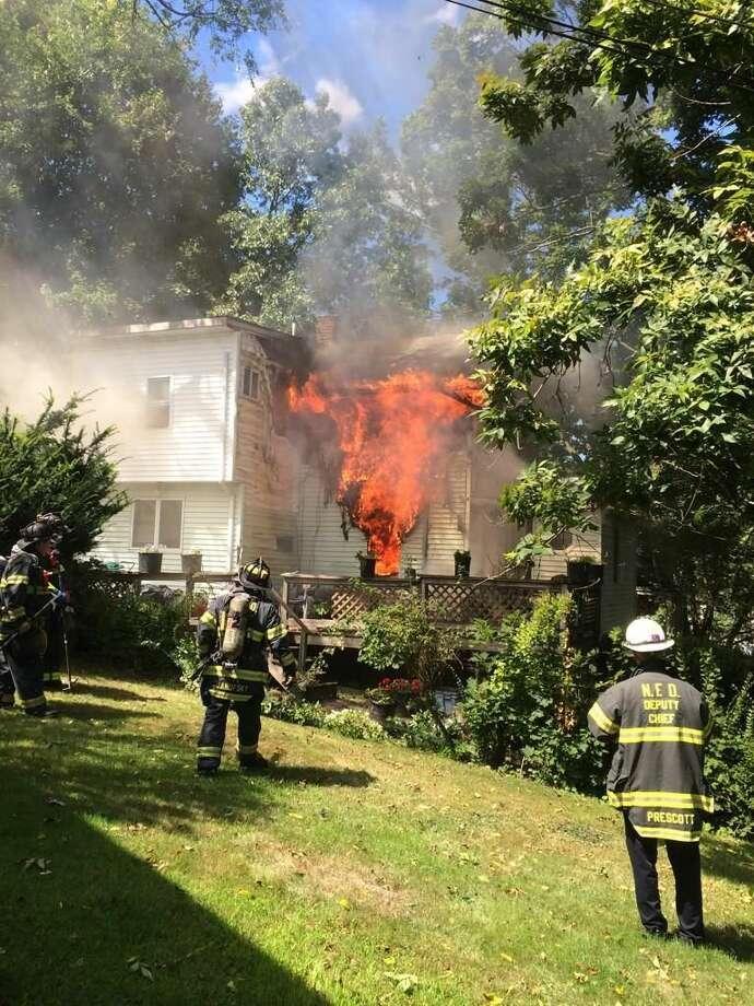 Riverside Avenue fire
