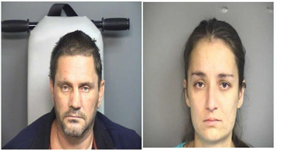 Igor Kotsopey, left, and Marina Vouk, right, have been charged with risk of injury to a minor.
