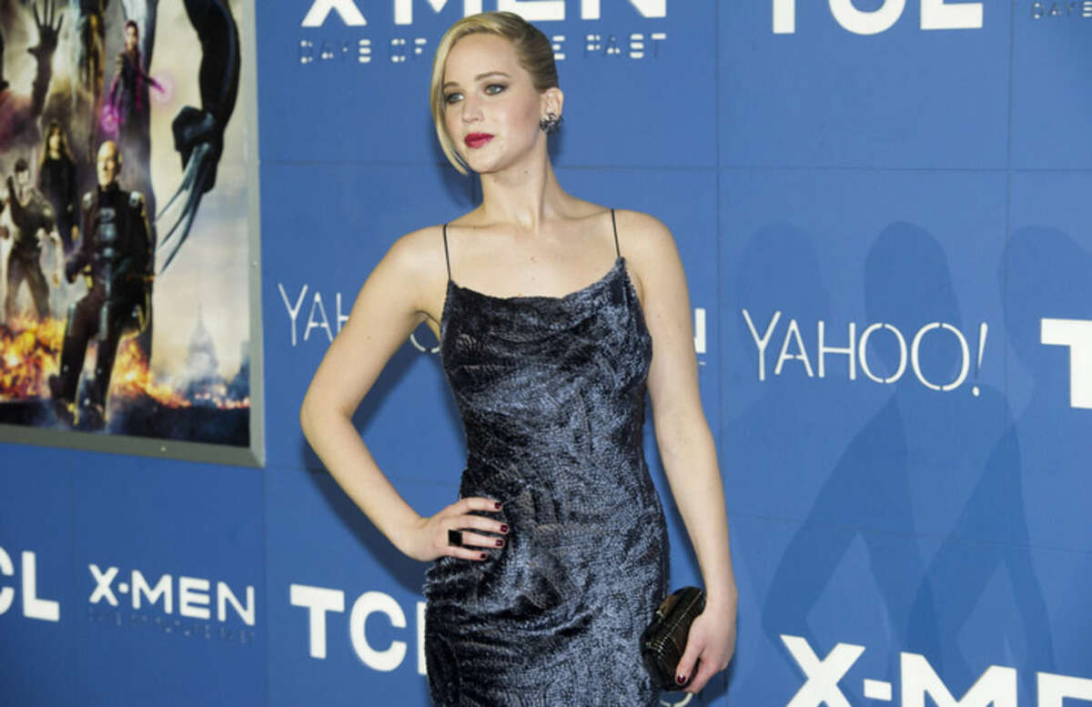 FILE - In this May 10, 2014 file photo, Jennifer Lawrence attends the