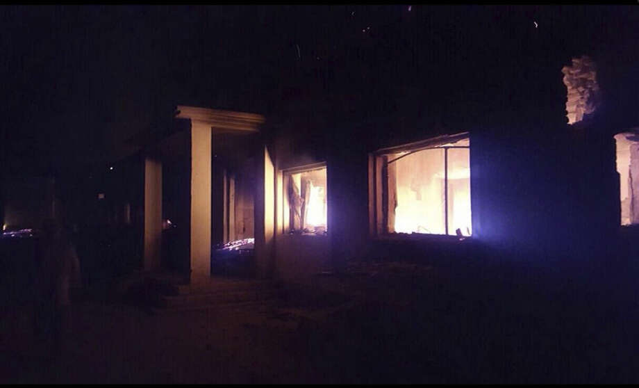 """The Doctors Without Borders trauma center is seen in flames, after an explosion near their hospital in the northern Afghan city of Kunduz, Saturday, Oct. 3, 2015. Nine local staffers for Doctors Without Borders were killed and 30 were missing after the explosion that may have been caused by a U.S. airstrike. In a statement, the international charity said the """"sustained bombing"""" took place at 2:10 a.m. (2140 GMT). Afghan forces backed by U.S. airstrikes have been fighting to dislodge Taliban insurgents who overran Kunduz on Monday. (Médecins Sans Frontières via AP)"""