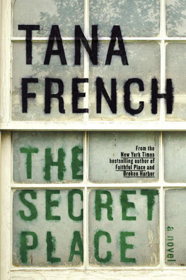 """This photo provided by courtesy of Viking shows the cover of the book, """"The Secret Place,"""" by Tana French. (AP Photo/Courtesy Viking)"""