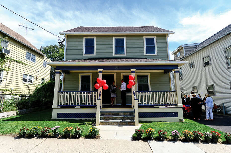 Beacon II, the newest affordable housing site operated by the Shelter for the Homeless, on Ann St in Stamford. The property has been fully renovated with state and federal assistance and converted into three affordable apartments, including a fully handicap-accessible unit.