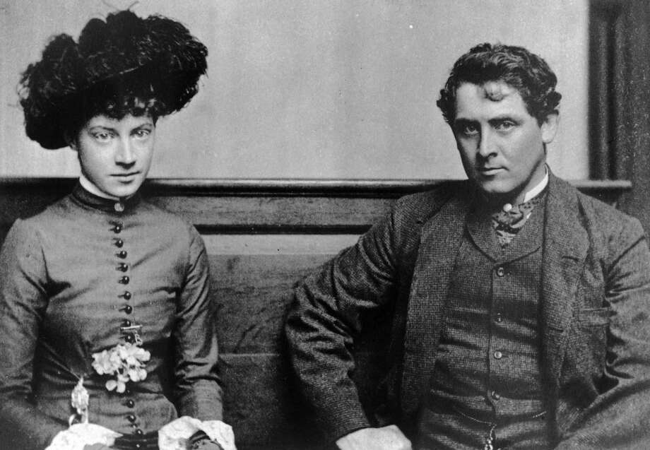 Anna Dwight Baker and Julian Alden Weir.