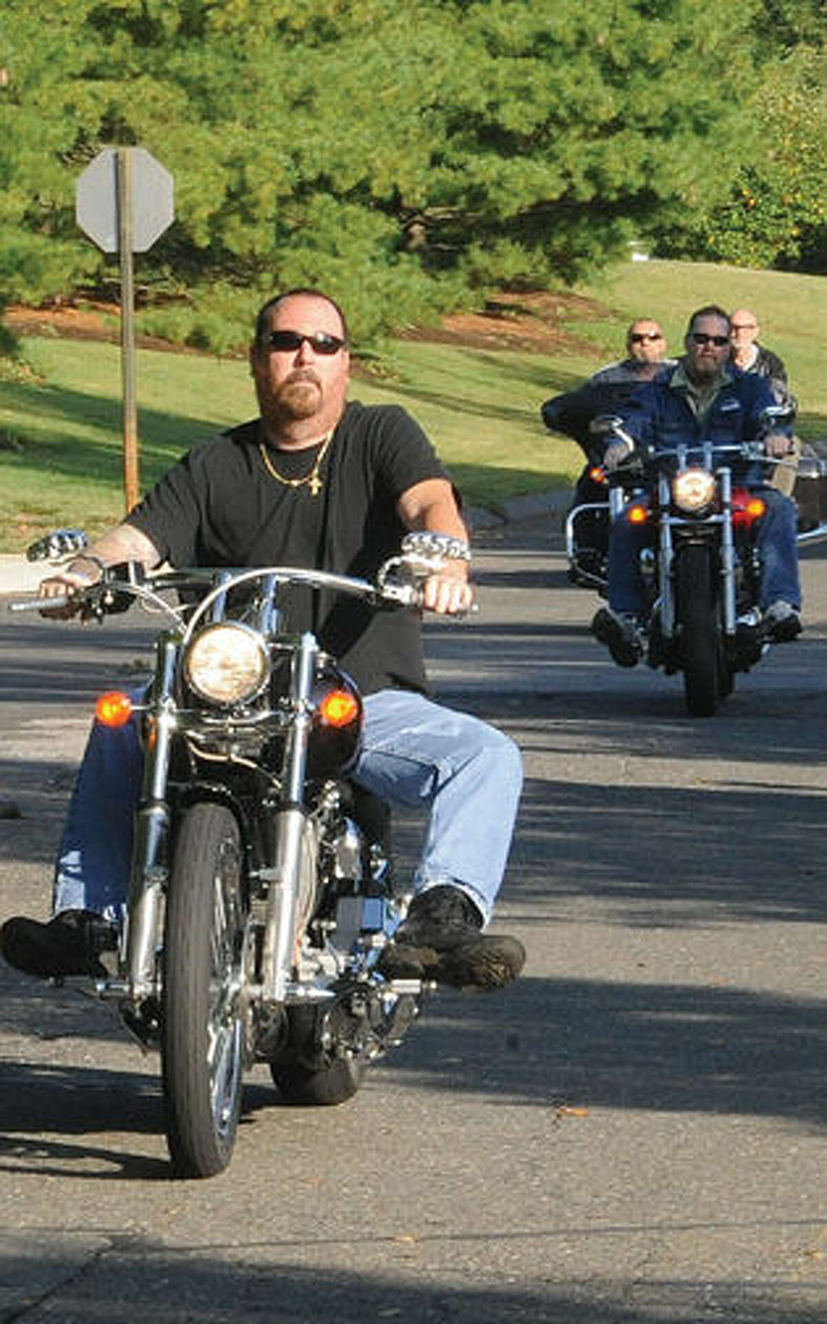 Bikers from all over the area participate in the Ct. United Ride the largest 9/11 tribute. Hour photo/Matthew Vinci