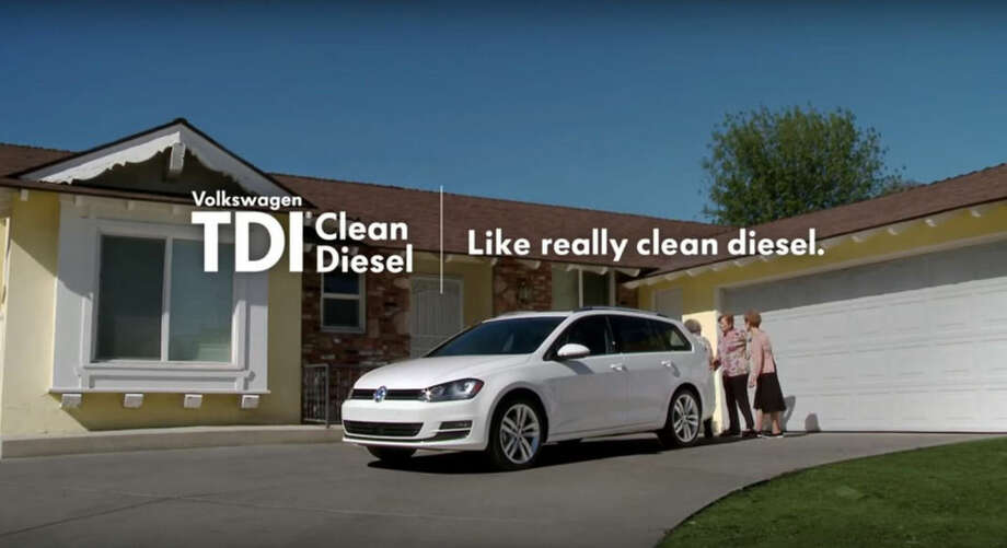 "This is a framegrab from a Volkswagen commercial for a vehicle with their TDI Clean Diesel engine. The Federal Trade Commission (FTC) is investigating whether Volkswagen's ""clean diesel"" advertising claims amounted to a fraud on American consumers, adding a new avenue for regulators to punish the company for its deception. For years, the company aired memorable TV spots using terms such as ""miraculous"" to describe the car's seemingly too-good-to-be-true balance of peppy acceleration, 40-mile-per-gallon gas mileage and low greenhouse gas emissions. The company has withdrawn those ads following last month's admission it had engaged in an scheme to rig U.S. emissions tests. (Volkswagen/Youtube via AP)"