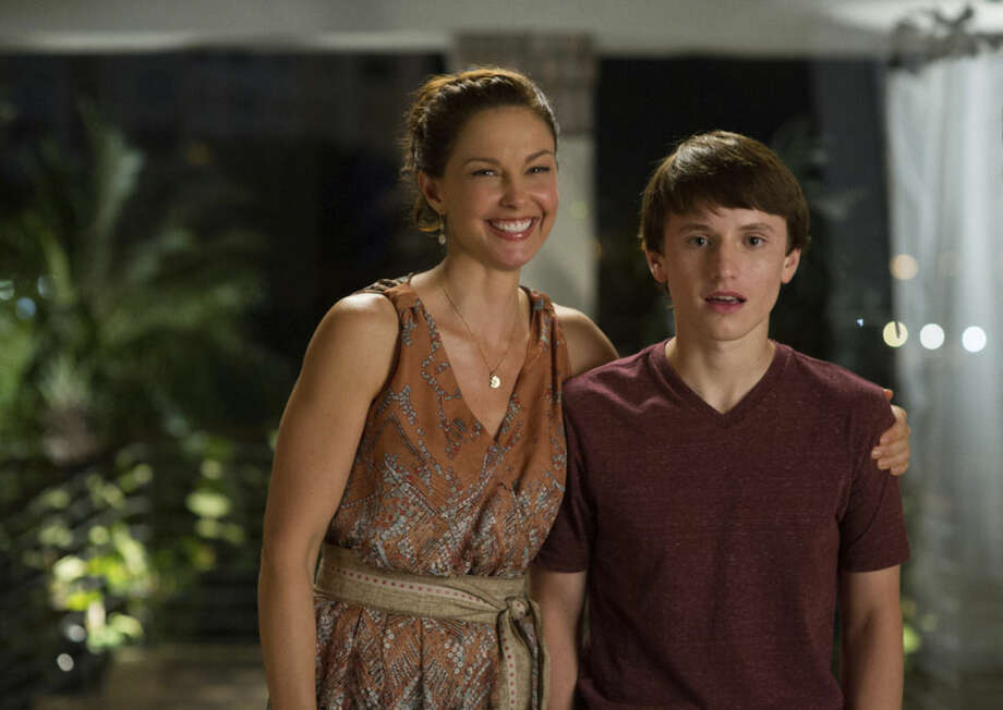 "This photo released by Warner Bros. Pictures shows Ashley Judd, left, as Lorraine Nelson, and Nathan Gamble as Sawyer Nelson, in a scene from the film, ""Dolphin Tale 2."" The film releases on Sept. 12, 2014. (AP Photo/Warner Bros. Pictures, Copyright Alcon Entertainment, LLC, Wilson Webb)"