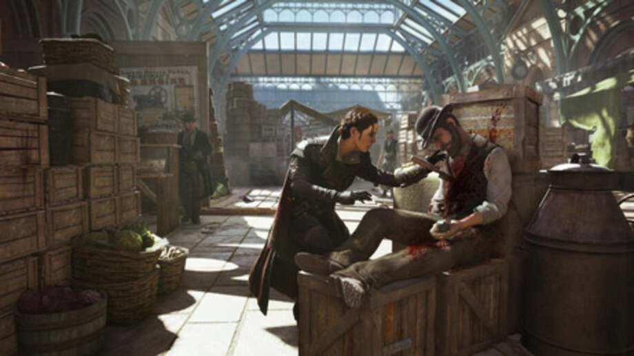 "This photo provided by Ubisoft shows a scene from the video game, ""Assassin's Creed: Syndicate."" (Ubisoft via AP)"