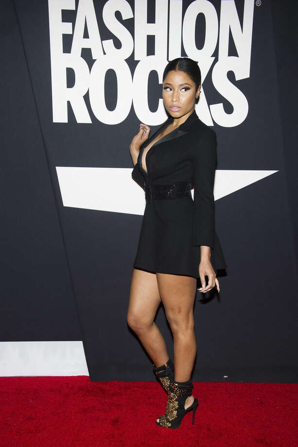 Photo by Charles Sykes/Invision/APNicki Minaj attends Fashion Rocks on Tuesday, Sept. 9, at the Barclays Center in the Brooklyn borough of New York.