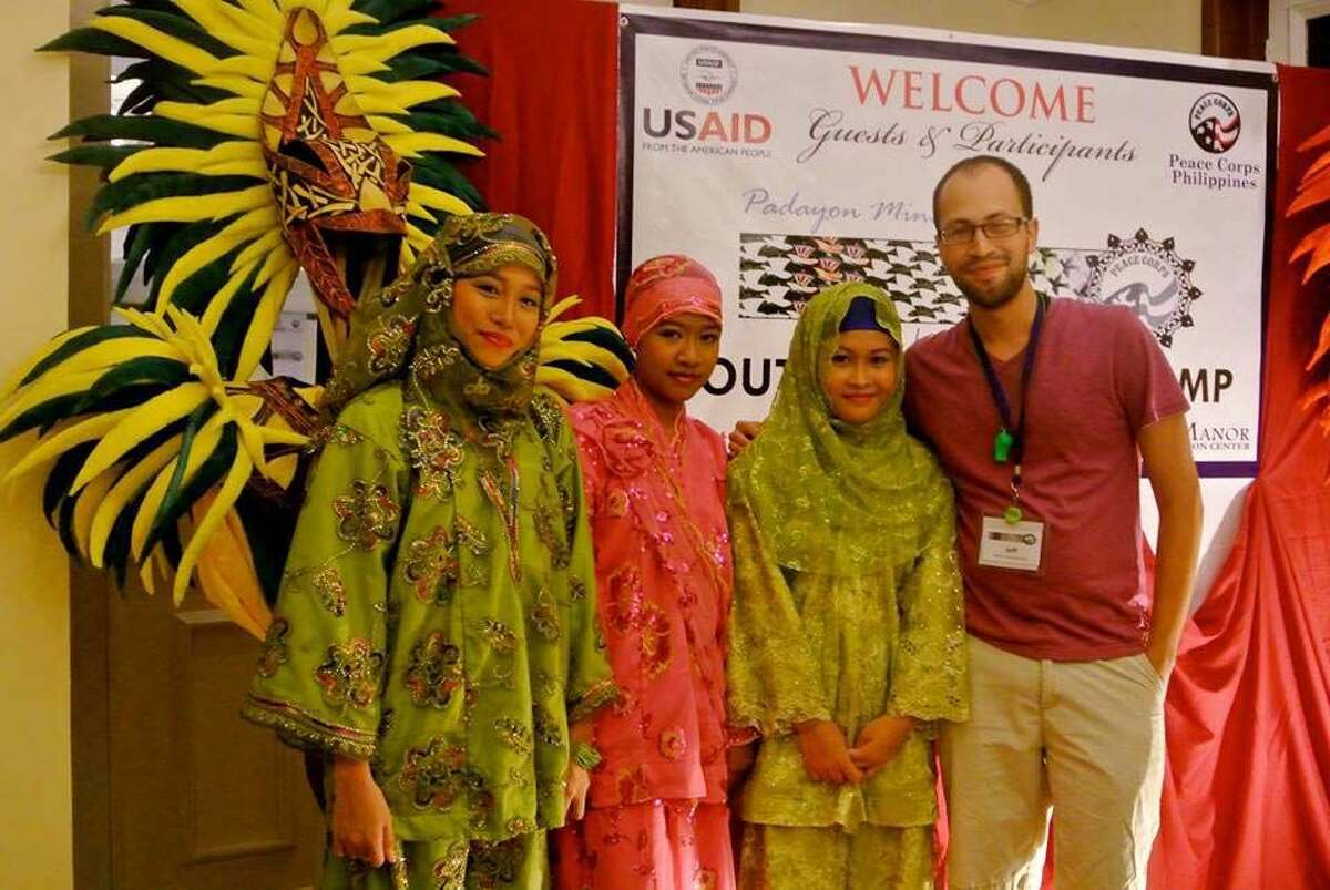 Contributed photo Norwalk native, Jeffrey Sierra, Children Youth and Family Volunteer with the U.S. Peace Corps.