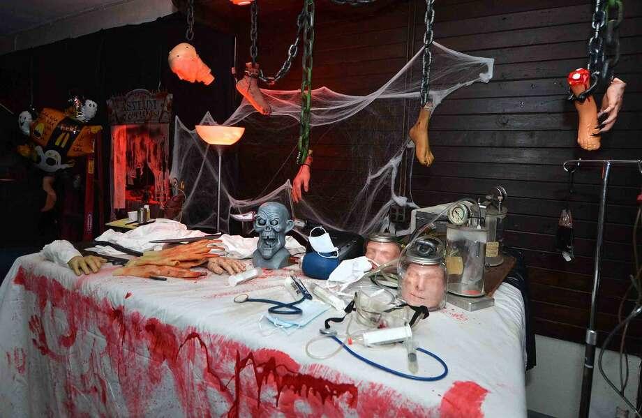 Hour Photo/Alex von Kleydorff Operating Inside the St. Philip Haunted House