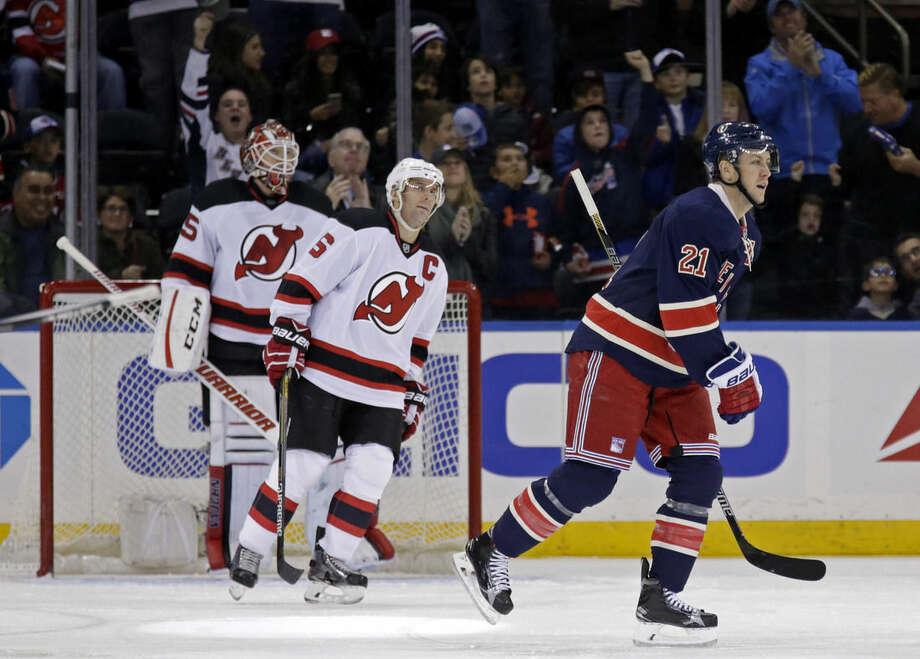 b144c1aad Stempniak s goal in OT gives Devils 2-1 win over Rangers - The Hour