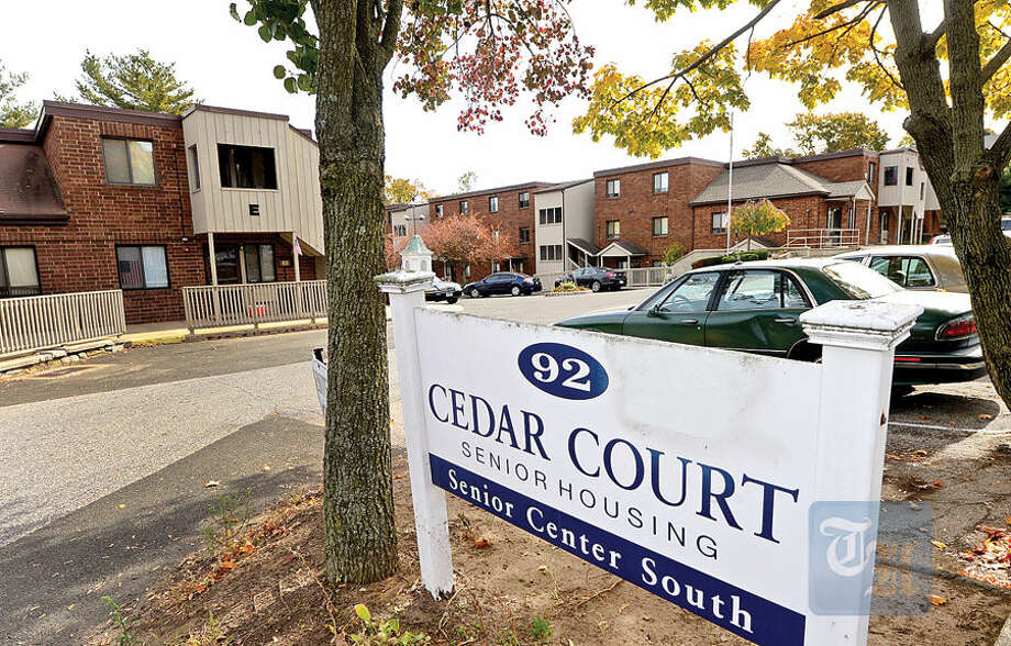 Hour photo / Erik Trautmann Cedar Court, a 90-unit senior housing development at 92 Cedar St., sells for $8 million.