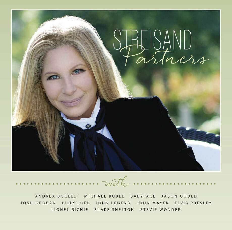 "This CD cover image released by Columbia Records shows ""Partners,"" by Barbra Streisand. (AP Photo/Columbia Records)"