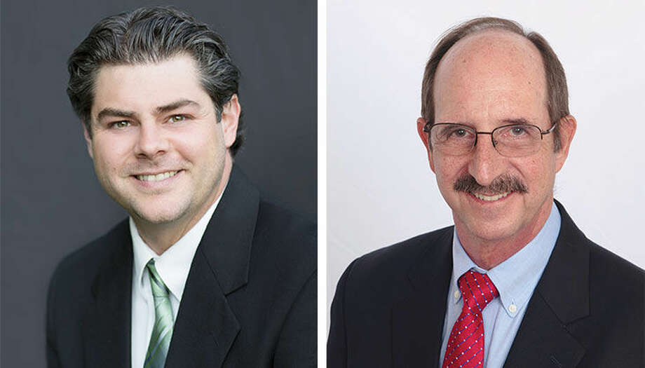 Democrats District D Common Council candidates Michael DePalma and Robert J. Hard.