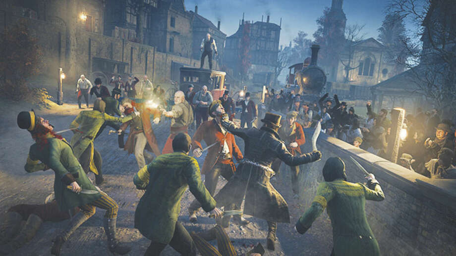 Ubisoft via APThis image released by Ubisoft shows a scene from Assassin's Creed Syndicate.
