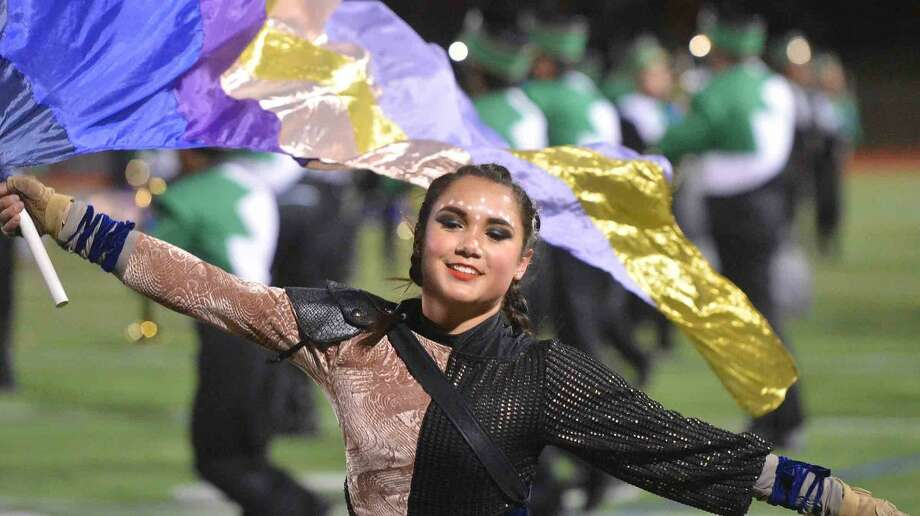 Hour Photo/Alex von Kleydorff Bianca Randazzo during the Norwalk Marching Bears production of Cry of the Valkyrie