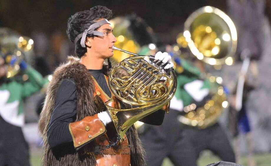 Hour Photo/Alex von Kleydorff Thomas Jankovic during the Norwalk Marching Bears production of Cry of the Valkyrie