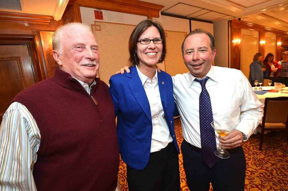 Hour Photo/Alex von Kleydorff Republican Party Election Night at The Norwalk Inn