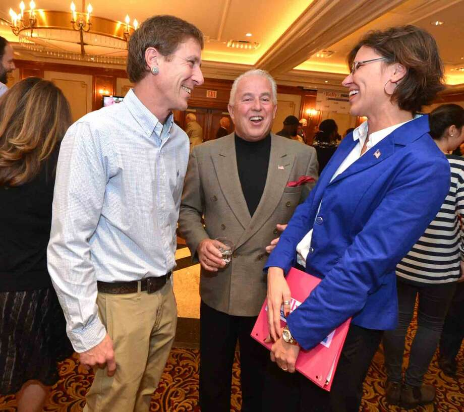 Hour Photo/Alex von Kleydorff Republican Party Election Night at The Norwalk Inn
