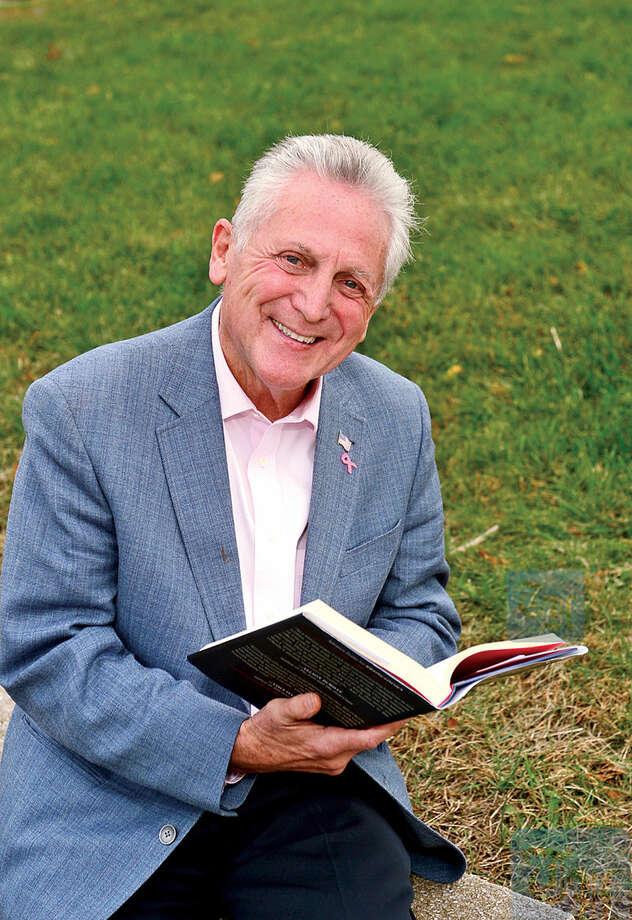 Hour photo / Erik Trautmann Norwalk Mayor Harry Rilling enjoys reading as one of his favorite hobbies.